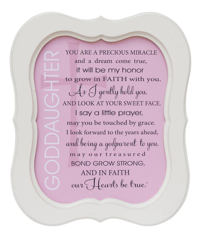 The Grandparent Gift Goddaughter Frame Sweet Sentiments The Grandparent Gift Co. 3712WS