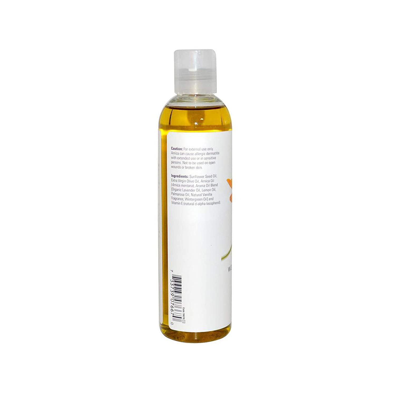 Now Foods Arnica Aceite de masaje alivio de calor, 8 onzas: Amazon.es: Salud y cuidado personal