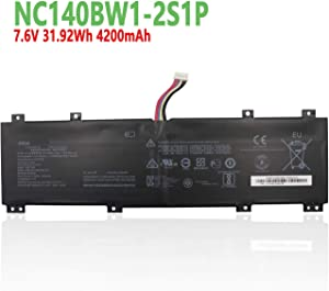 """efohana NC140BW1-2S1P Laptop Battery Replacement for Lenovo IdeaPad 100S 14"""" 100S-14IBR 80R9 Series Notebook 0813002 5B10K65026 BSNO427488-01 5B10L06248 NC14OBW1-2S1P 7.6V 31.92Wh 4200mAh"""