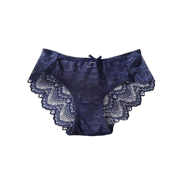 DEELIN Mujeres Sexy Encaje Ropa Interior Bragas G-Pantalones Tanga Ropa Interior Bragas Ropa Interior: Amazon.es: Ropa y accesorios