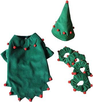 Amazon.com: S-Lifeeling - Disfraz de elfo de Navidad para ...