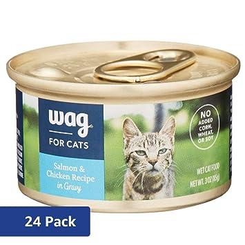 Amazon Amazon Brand Wag Wet Cat Food Salmon Chicken