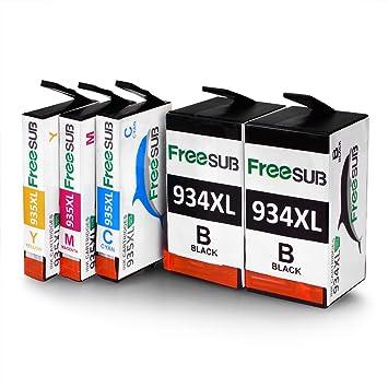 Compatible para HP 934 935 Ink Cartridge freesub alta ...