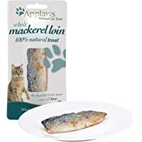 Applaws Whole Mackerel Loin Cat Food Treat, 30g (Pack of 18)