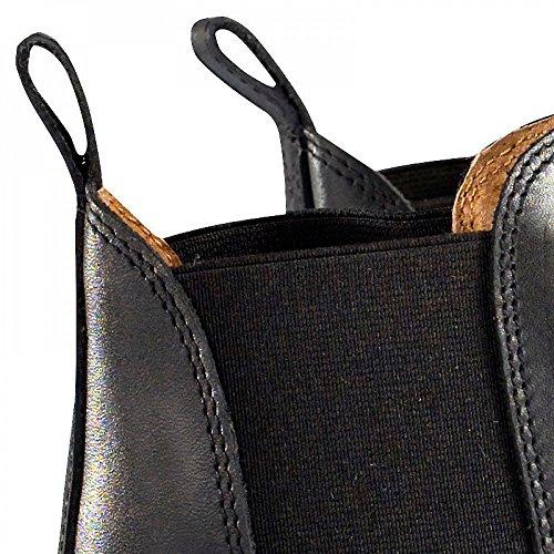 Botines Clásicos de Cuero Horze Negro (BL)