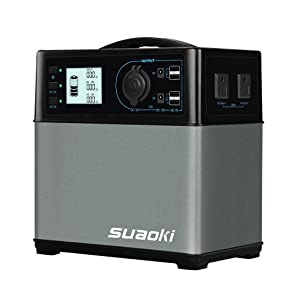 suaoki PS5B 400Wh AC出力300W ジャンプスタータ機能 ポータブル電源