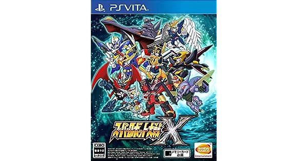 Amazon.com: PS Vita Super Robot Wars X (English) for ...