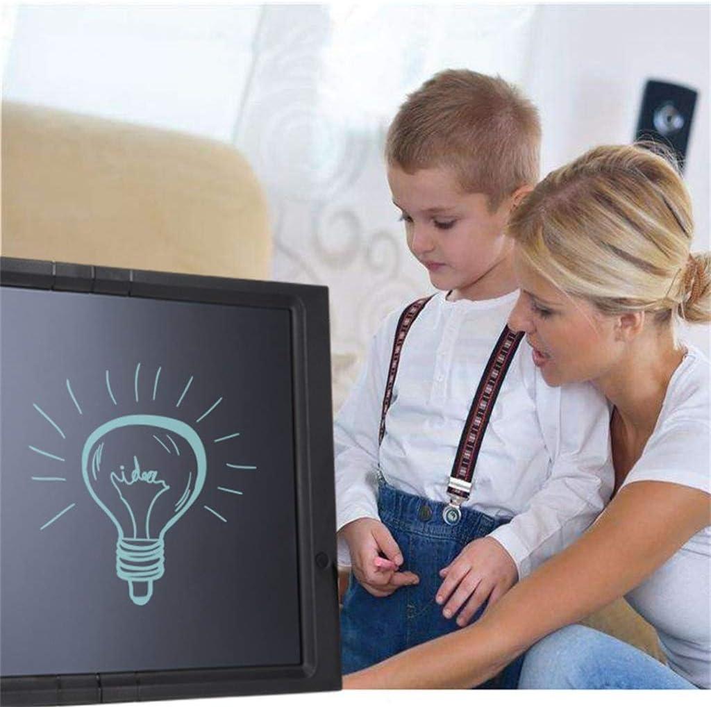 Office 20 Inch Electronic Blackboard//LCD Writing Board//Painting Graffiti Board//Message Board//Suitable for School Family Black