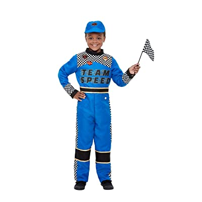Smiffys Racing Car Driver Costume: Toys & Games