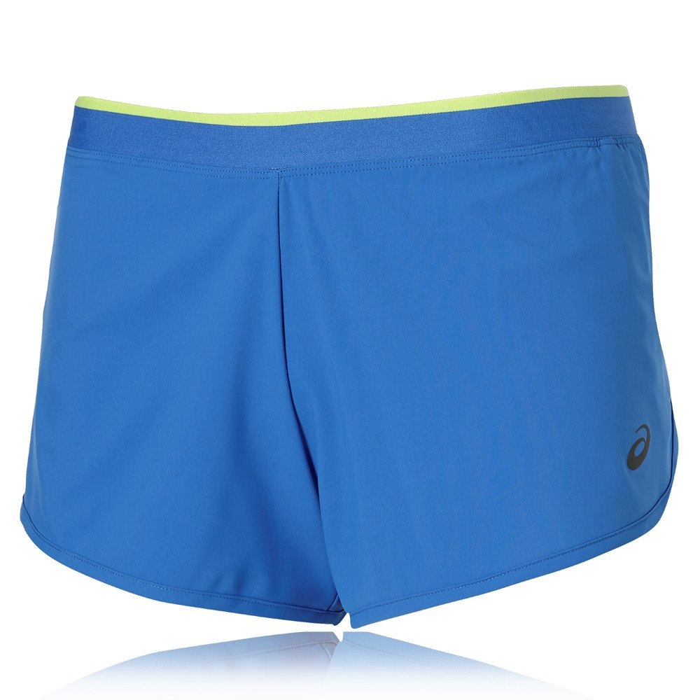 Blue Asics 2 In 1 Womens Running Shorts Sporting Goods