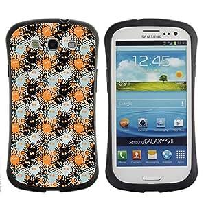DesignCase Premium TPU / ABS Hybrid Back Case Cover Samsung Galaxy S3 III i9300 ( weird monster )