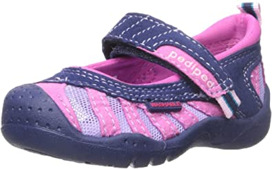 Chaussures Pediped bleues fille REa7AyP