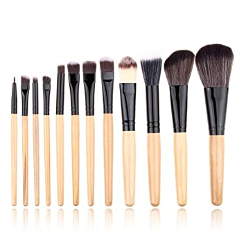 64981340a1c5 Amazon.com: Best Quality - Eye Shadow Applicator - 12pcs/set Makeup ...