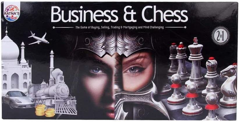 Ratnas Business & Chess 2 in 1