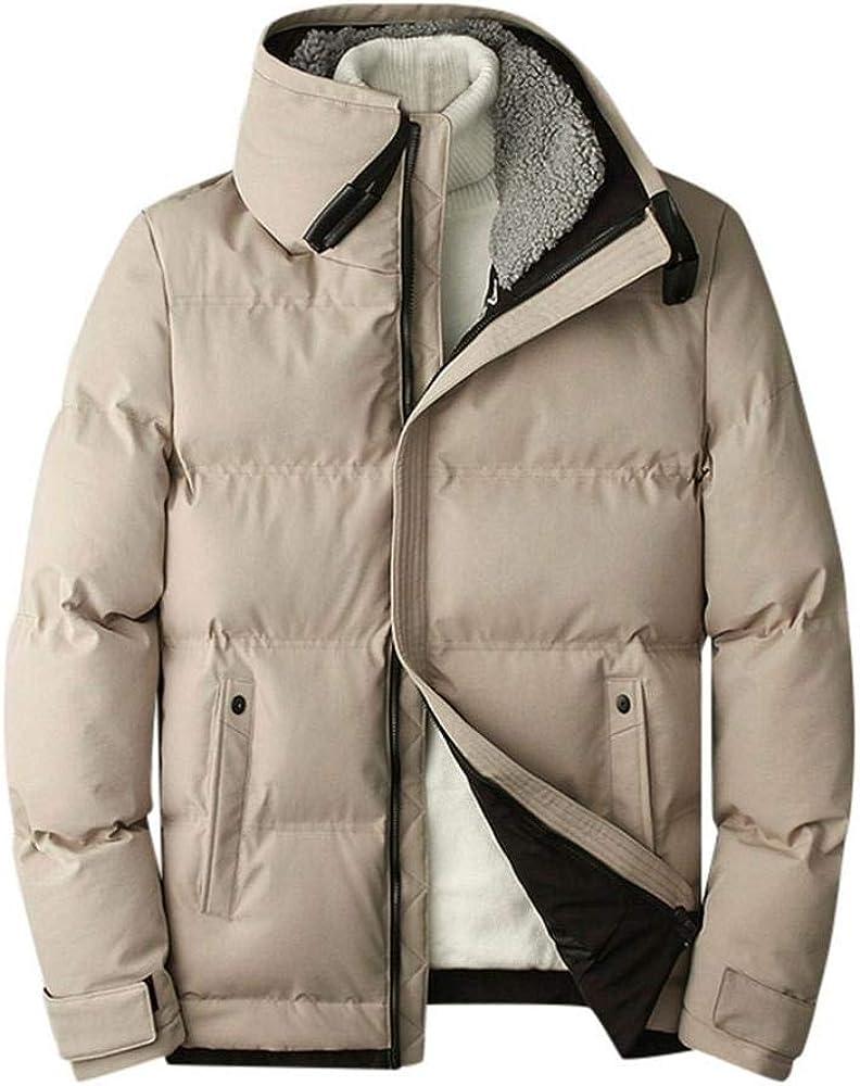 VJGOAL Abrigo de algodón para Hombre Invierno Casual Tallas ...