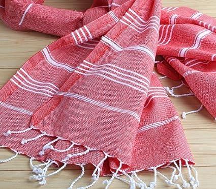 XXL 180 x 90 cm 100% toalla de baño de algodón turco Peshtemal para hammam