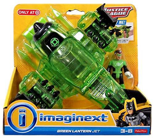 imaginext  : Imaginext exclusive 2015 Green Lantern Jet: Toys & Games