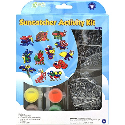 Suncatcher Group Activity Kit, Insects 12/Pkg -