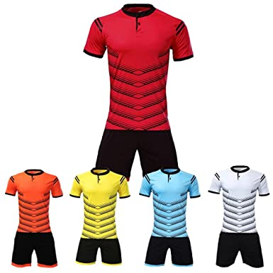 9bae56ffc HEARUISAVY 2018 Customized Football Jerseys Blank Personalized Soccer Jersey  100% Polyester Breathable