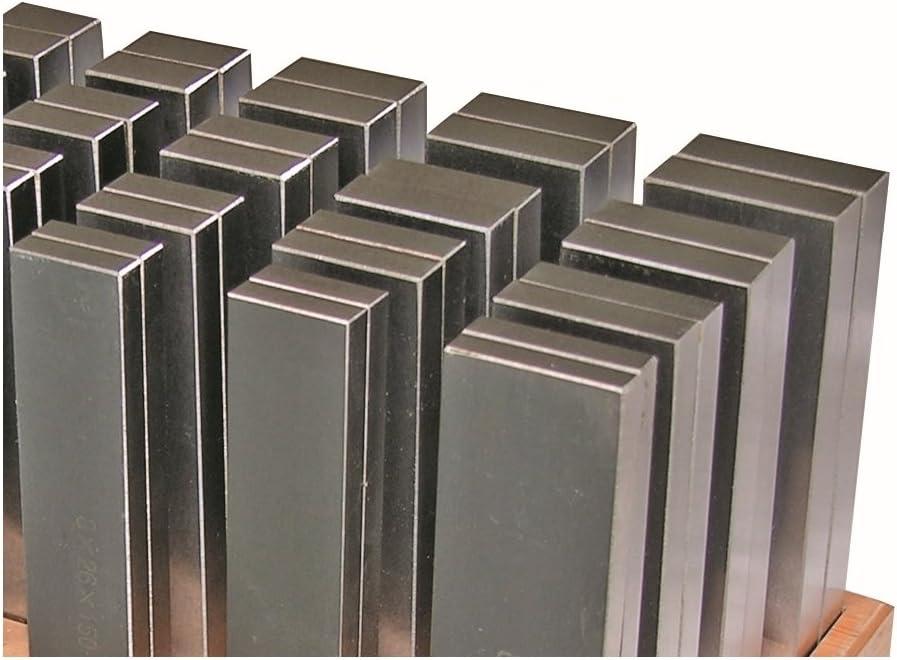 Set di parallele temprate 24 coppie da 150 mm di lunghezza