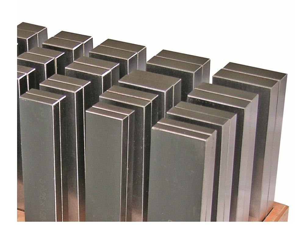 Parallelunterlagen 24 Paar x 125 mm L/änge NEUWARE
