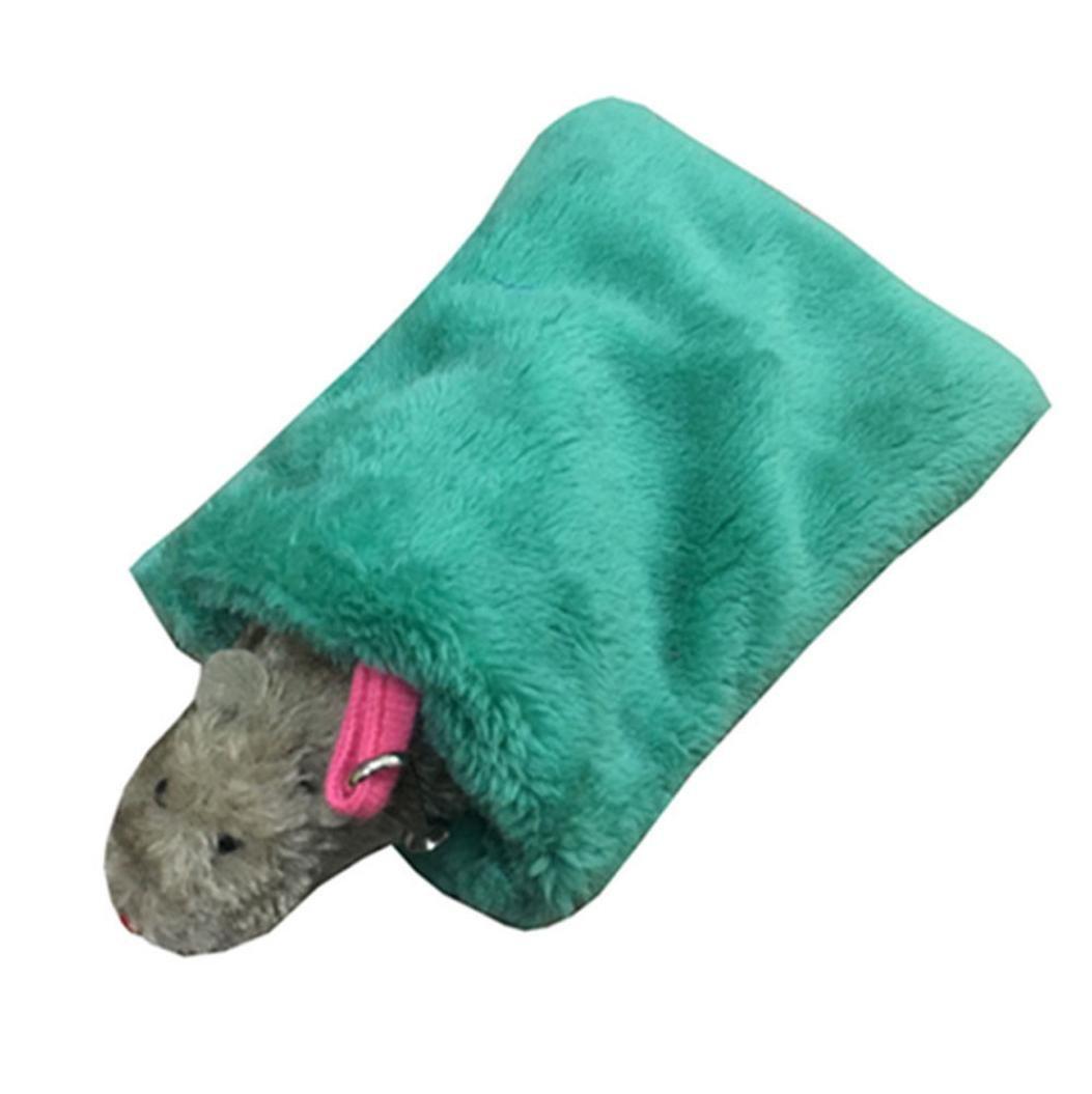❤Slumber Bag Smdoxi Cat Sleeping Bag Self-Warming Kitty Sack❤ (Green)