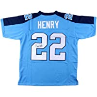 $233 » Autographed Derrick Henry Jersey - Blue Beckett 148209 - Beckett Authentication - Autographed NFL Jerseys