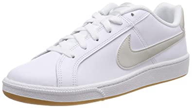 hot sale online cd0fc 103b3 Nike Womens WMNS Court Royale Gymnastics Shoes, (White BoneGum Lt Brown  115