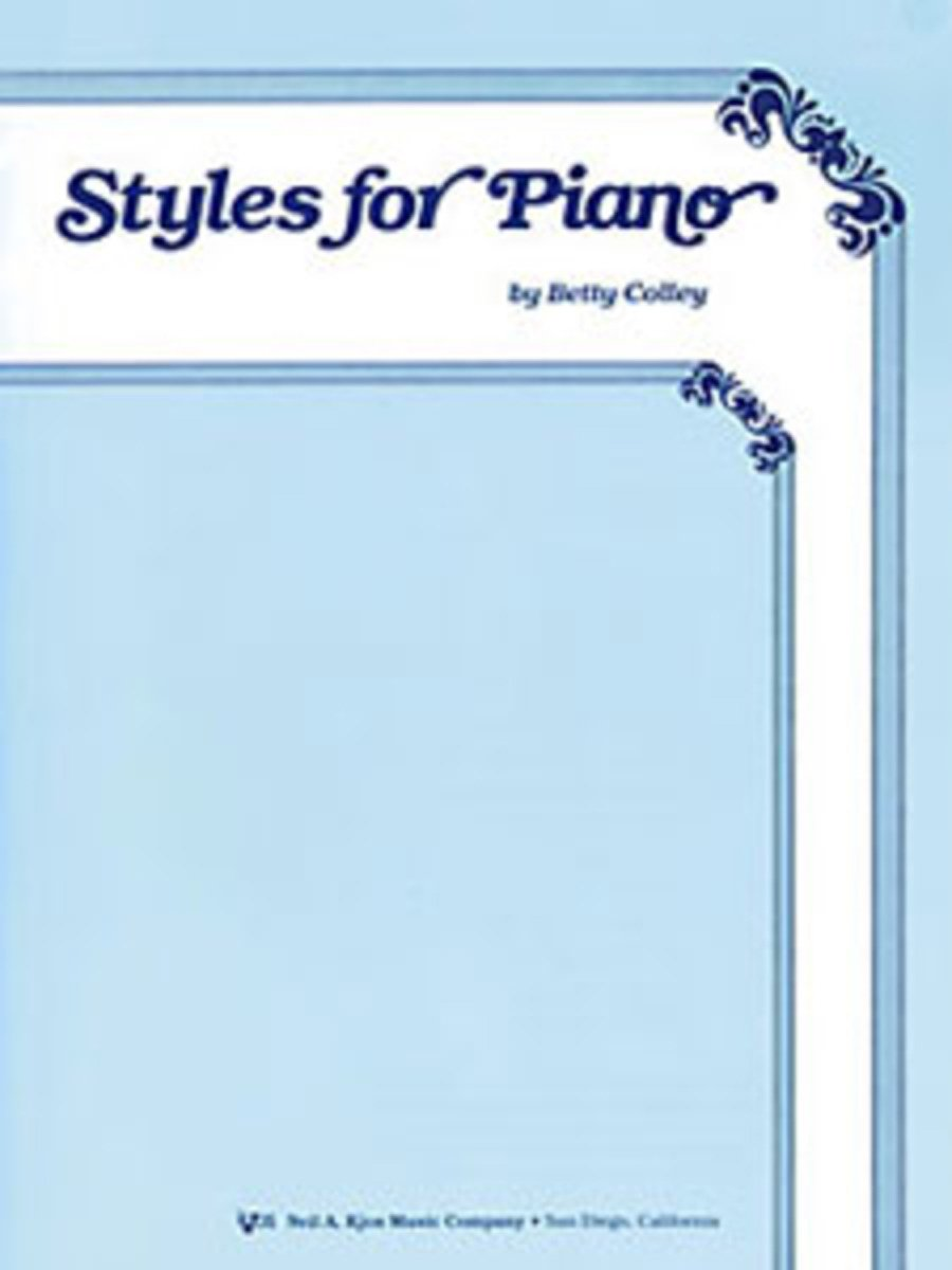Download WP81 - Styles for Piano PDF