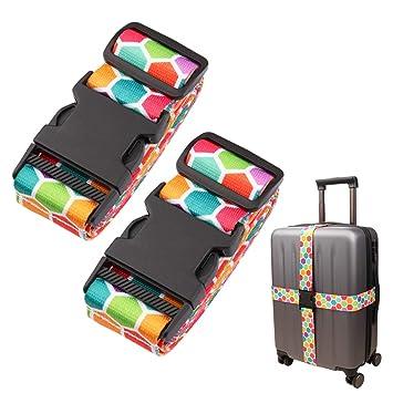 Amazon.com: Correa ajustable para equipaje de viaje, bolsa ...