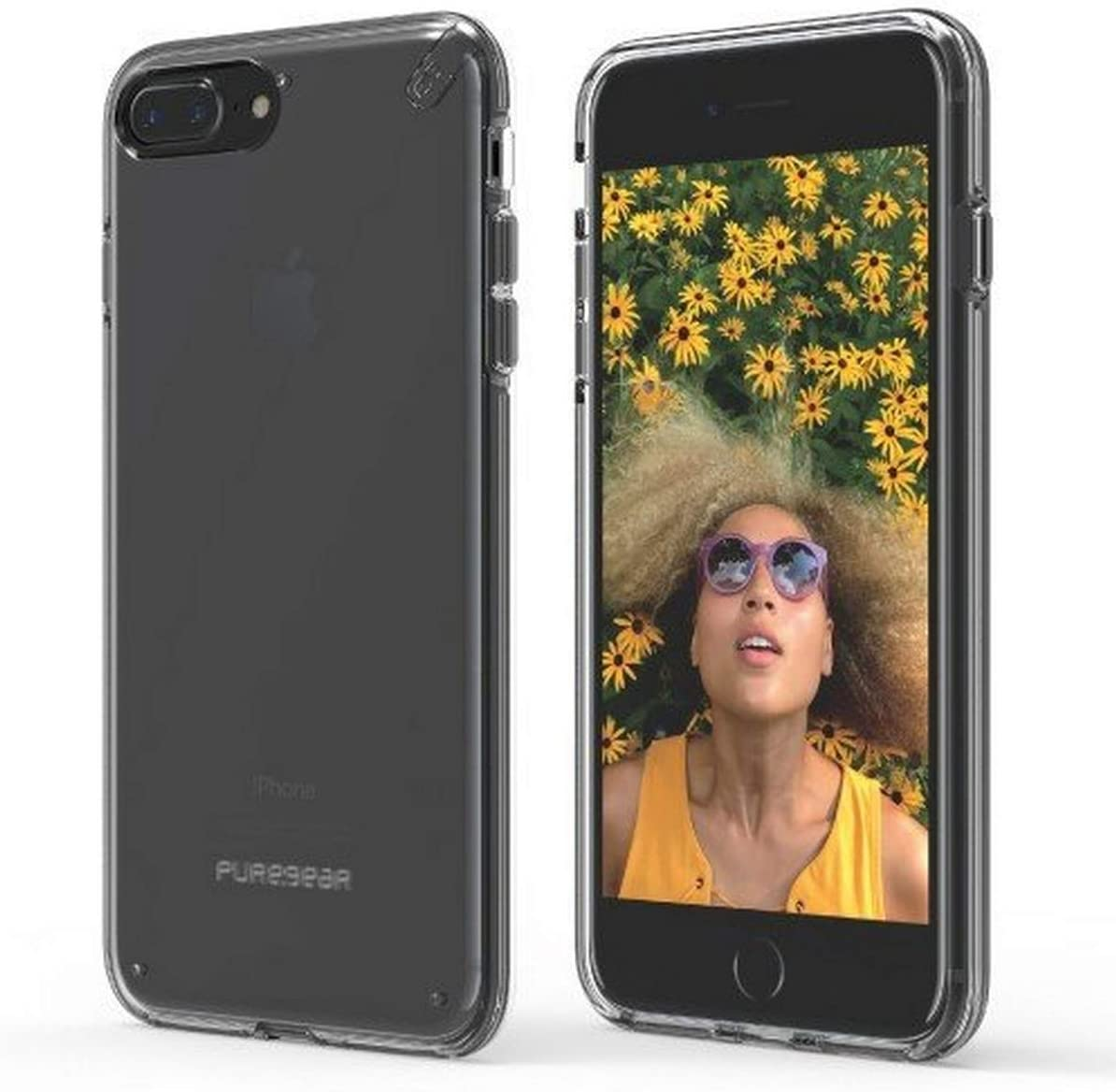PureGear Slim Shell for iPhone 7 Plus - Clear/Clear