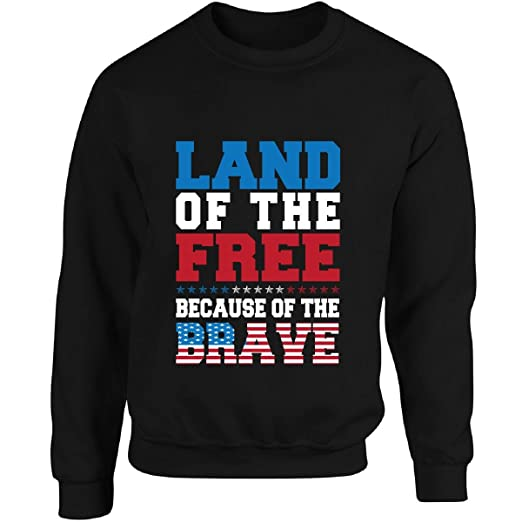 size 40 7adcf 12fd4 Land Of The Free Because Of The Brave Veterans Day Patriot ...
