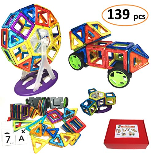 MAG BOND 139 Pieces Magformers Magnetic Educational product image