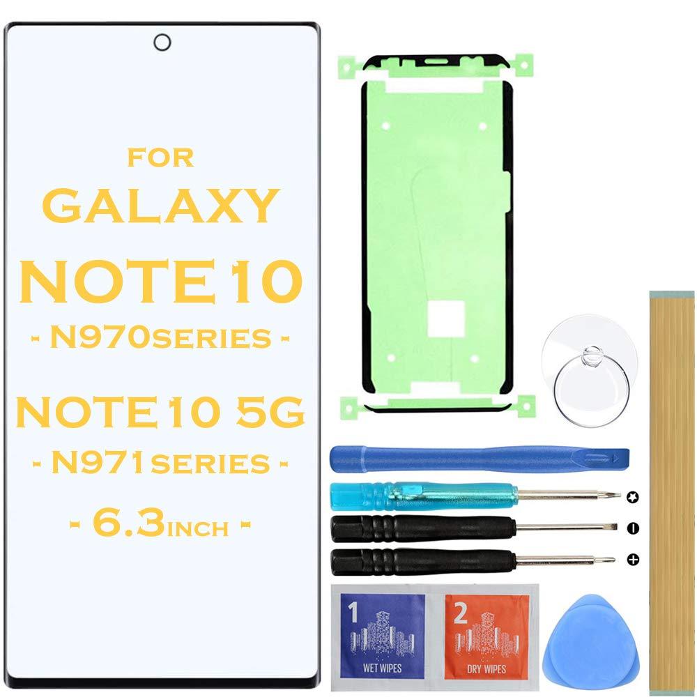 Vidrio Frente Negro para Samsung NOTE 10 N970 Series NOTE 10