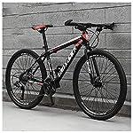 61ZA ZMC3OL. SS150 26 Pollici 21 velocità, Adulto Bicicletta MTB, Bicicletta, Bicicletta Mountain Bike, Biciclette, Doppio Freno A Disco…