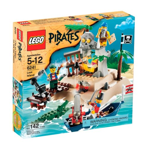 LEGO Pirates Loot Island]()
