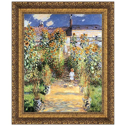 Madison Collection 13X15 Artists Garden at Vetheuil 1880 -