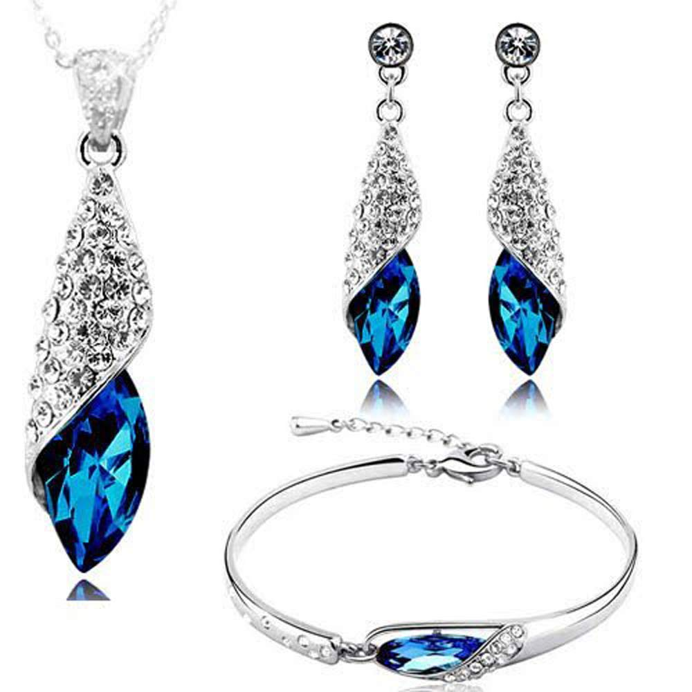 Valentine Gift By Shining Diva Italian Designer Non-Precious Metal Jewellery