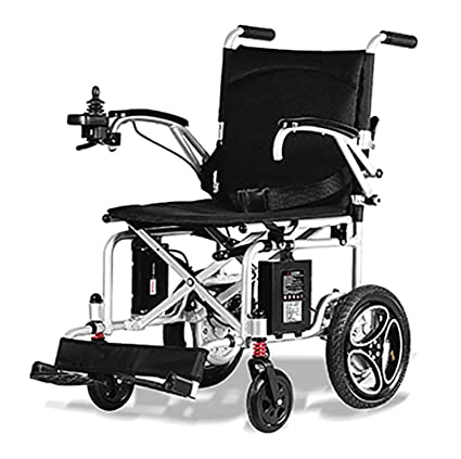 TX Electric Handle Foldable Portable Travel Wheelchair Super Lightweight Airplane Carryable