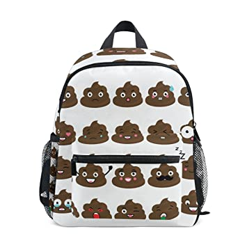Amazon.com | Cooper girl Cute Poop Emoji