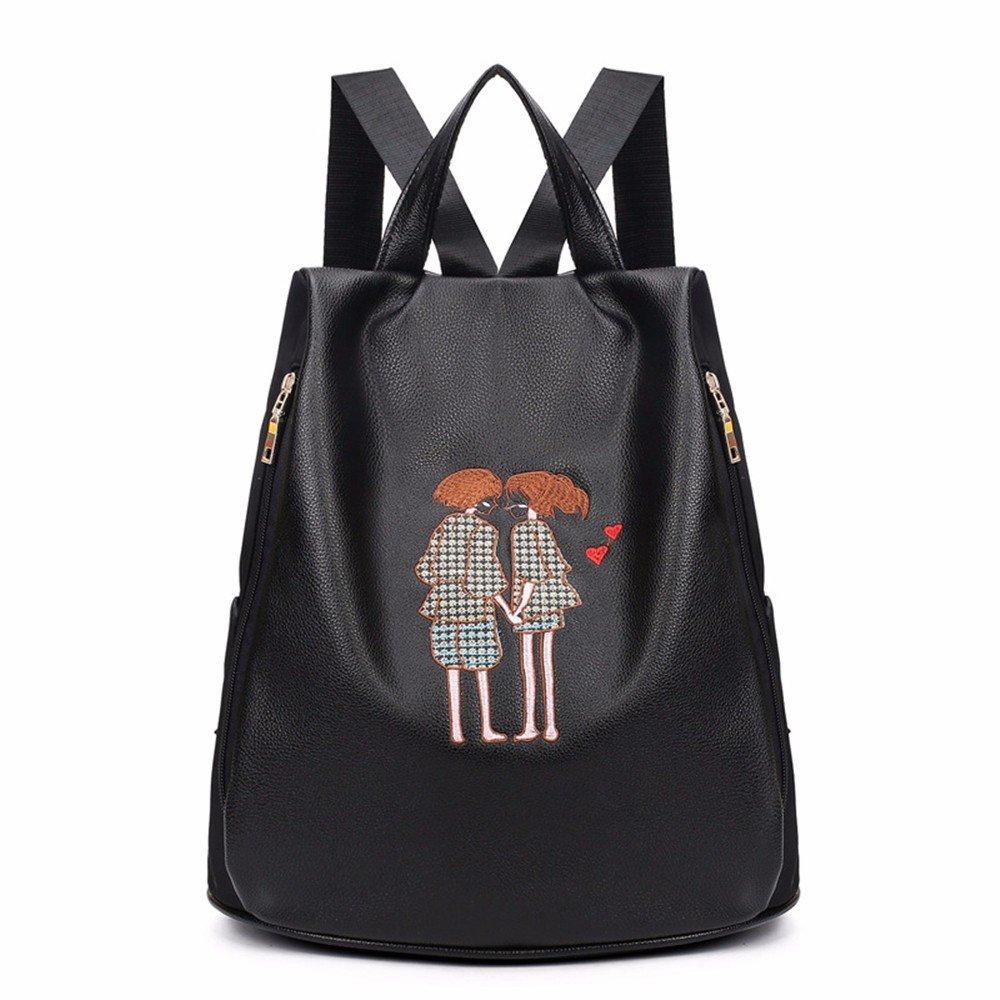 Mode Doppel Schultertasche Paare Freizeit Tasche einfach Mode Double Shoulder Bag female Tasche Anti-diebstahl-Doppel Schultertasche
