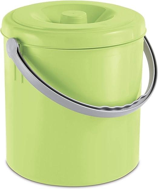 küche mülleimer 15 l grün