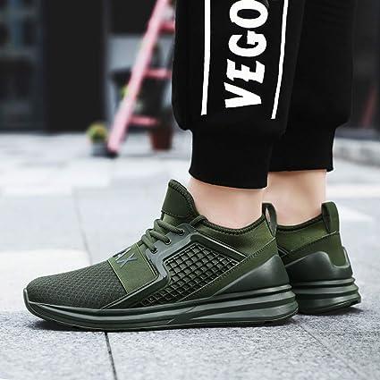 Amazon.com: Sharemen Mens Walking Tennis Shoes Blade Slip On Casual Fashion Sneakers: Clothing