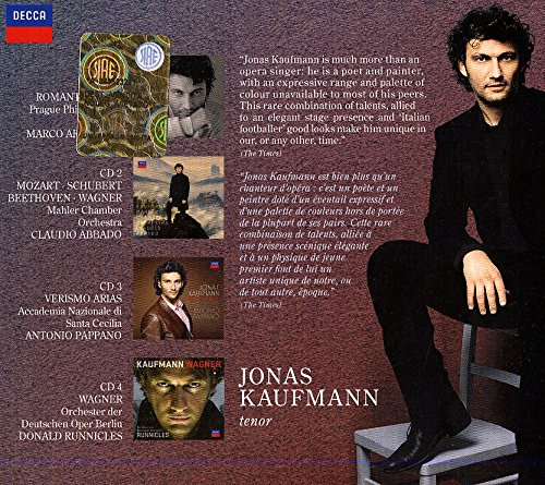 Jonas Kaufmann - 50 Great Arias [4 CD] by Decca (Image #2)