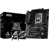 MSI TRX40 PRO 10G Motherboard (AMD sTRX4, PCIe Gen4, M.2, USB3.2 Gen2x2, DDR4, Dual 10G LAN, ATX)