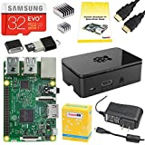 CanaKit Raspberry Pi 3 Complete Starter Kit - Includes 32 GB Samsung EVO+