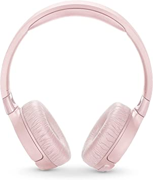 Amazon Com Jbl T600btnc Noise Cancelling On Ear Wireless Bluetooth Headphone Pink Electronics