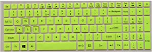 Keyboard Protective Cover Skin Protector for Acer Nitro 5 An515 52 An515 An5 Vx 15 Vx5 591g V 17 Gaming Vn7 793g 17.3,Green