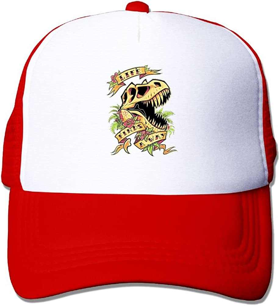 FeiTian Dinosaurs Skull Classic Baseball Caps For College Students Durability Great For Sports Hiking Visor Hat