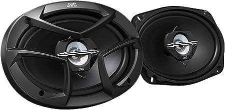 Jvc Cs J6930 System 2 Wege Koax Lautsprechersystem Schwarz Audio Hifi